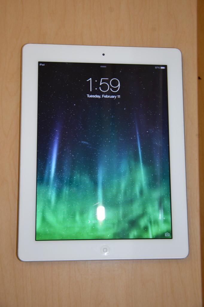 An Apple iPad teachers will acquire in the future.