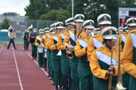 The Rompin' Stompin' Raider Band Marches to a New Beat