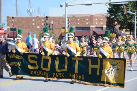 Students March in Overland Park Parade
