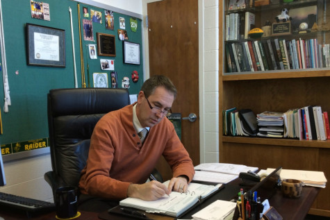 After 17 years at South, Principal Joe Gilhaus will move to the District Office July 1.