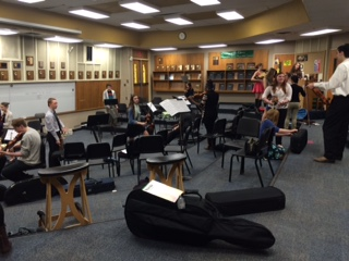 Orchestra Students Perform at Solo Festival