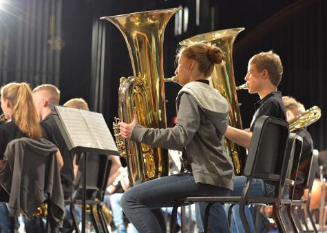 German Band Visits Shawnee Mission South