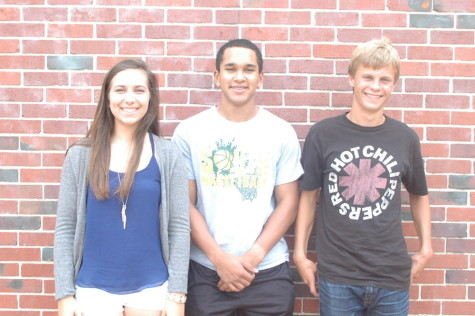 Isabel Holcomb, Remy Gordan, and Ryan Conley are the National Merit Semi-Finalists.