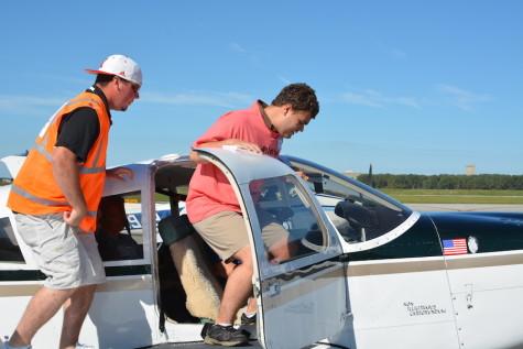 Sophomore Wes Hansen Participates in Challenge Air