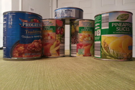 Canned Food Drive 2015