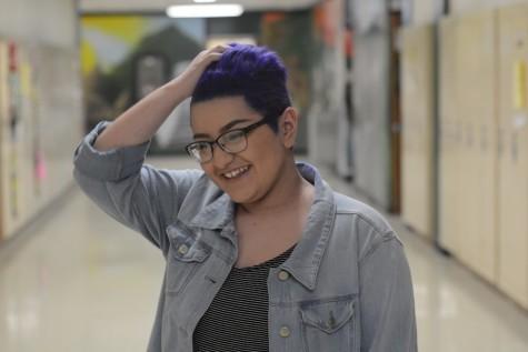 Freshman Cynthia Flores