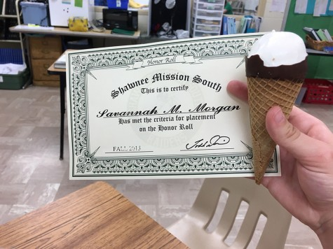 Honor Roll Students Get a Tasty Treat