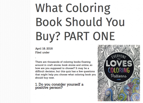 What coloring book should I buy? PART ONE