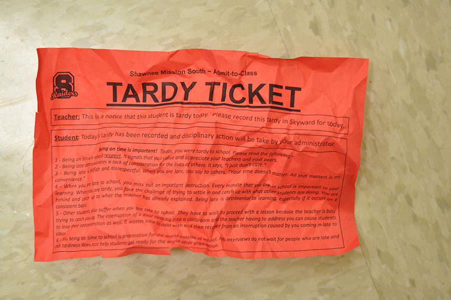 Administrators Immplement Tardy Round Up