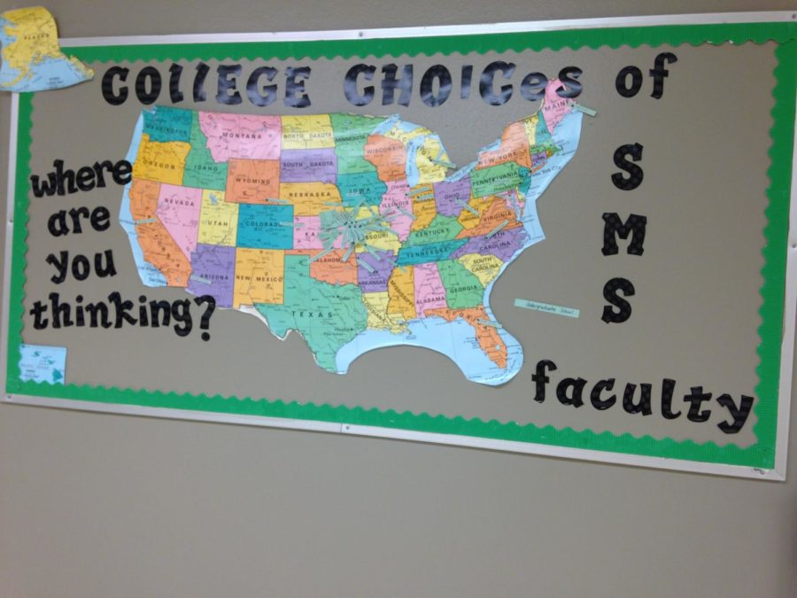 Here are some of the colleges that faculty in the school went to, these are only a few of the options.