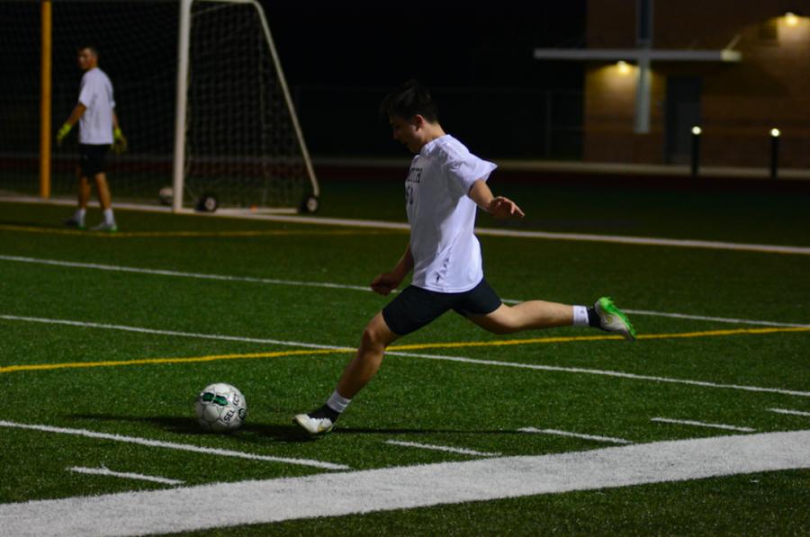 Alumni Return for Men's Soccer Game