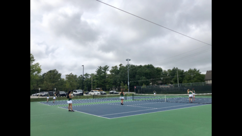 South girls tennis loses to Blue Valley Northwest