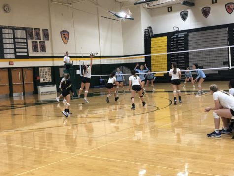 Volleyball loses to Shawnee Mission East