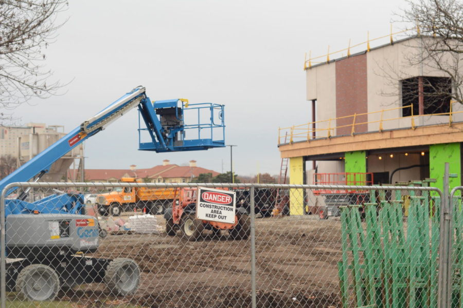 The construction at Shawnee Mission South is still going on. Many students are asking how much longer it is going to be.