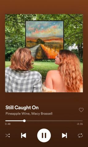 Still Caught On by Pineapple Wine and Macy Brassell is now streaming on Apple Music, Spotify, YouTube, Prime and iTunes.